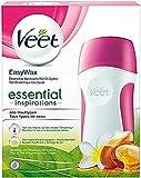 Veet EasyWax essential inspirations, elektrisches Warmwachs Roll-On-System für alle Hauttypen, 1 Stück, inkl. 1 Nachfüll-Patrone