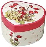 Spieluhr Trousselier - 30107 'TR Herz Blumenfee sitzend' (Spieldosen, Musikdosen, Spieluhren), das ideale Geschenk