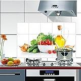 WEI Anti-Fume Aufkleber Obst feuchtigkeitsbeständig Hochtemperatur-Wandaufkleber Küchenfliese Aluminium Anti-Öl-Aufkleber,Bild,Einheitsgröße