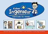 Kleiner Ingenieur: Elektronik für Kinder. Lernpaket mit allen elektronischen Bauteilen, die für die Experimente benötigt werden.
