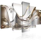 murando - Bilder 100x50 cm Vlies Leinwandbild 5 TLG Kunstdruck modern Wandbilder XXL Wanddekoration Design Wand Bild - Abstrakt Blumen a-A-0004-b-o