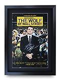 HWC Trading Wolf of Wall Street A3 Gerahmte Signiert Gedruckt Autogramme Bild Druck-Fotoanzeige Geschenk Für Leonard Dicaprio Filmfans
