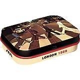 Nostalgic-Art Fab4 - Abbey Road | Pillen-Dose | Bonbon-Box | Metall | mit Pfefferminz-Dragees