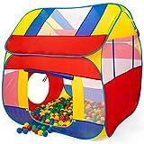 KIDUKU Bällebad XXL + 300 Bälle + Tasche Spielhaus Babyzelt Spielzelt Kinderzelt ideal für dinnen und draußen