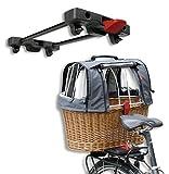 KLICKfix Hundekorb Doggy Basket Plus für Racktime, 0399RH