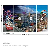 Disney Cars Vlies Fototapete Tapete Vliestapete Dekoshop Disney: Cars AD4-012VEXXXL (416cm x 254cm) Photo Wallpaper Mural