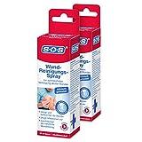 SOS Wund-Reinigungs-Spray: Wundspray zur schmerzfreien Versorgung akuter Wunden, Wunddesinfektionsmittel, 50ml