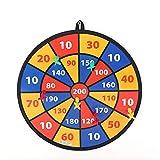 XZW AN Gehirn Spiel 8 Bälle mit Klettverschlüssen for die Sicherheit großer Kinder, Abric Dart Board Game Kind Wachstum Spielzeug ( Farbe, Größe : Einheitsgröße )