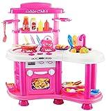 Spielküche XXL 'Little Chef' mit viel Zubehör / Sound & Licht