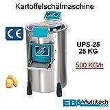 Kartoffelschälmaschine, 520x830x960mm, Kapazität: 25kg