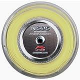 Li-Ning NS95 Badminton Saite 200m Spule Rolle Saite Bespannung, gelb