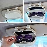 Auto Brillenhalter Brillenhalterung Brillenbox, Magnetischer Brillenhalter, Universal Sonnenbrillenhalter Brillenetui Brillen Halter Auto Zubehör