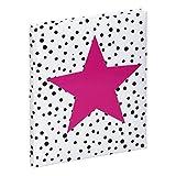 Poesiealbum Pink Star sortiert