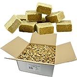 Öko Anzündwürfel 7KG Premium Holz-Wachs-Anzünder Kaminanzünder Holzanzünder Grillanzünder Brennholzanzünder Holzkohle Briketts Kaminholz