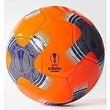 adidas Herren UEFA Europa League Capitano Fußball Trainingsball, Sorang/Ironmt/Black, 5