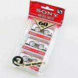 Sony MC-60 Mikrokassette (60min Aufnahmezeit), 3 Stück