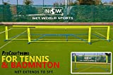 ProCourt Mini Tennis-/Badmintonset [Net World Sports] (Tennis-/Badminton Set 3m)
