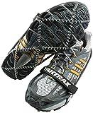 YakTrax Pro Anti-Rutsch-Uberschuhe für mehr Halt auf Eis und Schnee Schuhkrallen & Eisspikes, Schwarz (Black) 40 EU