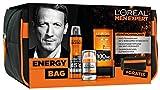 L'Oreal Men Expert Energy-Geschenkbag: mit Heat Protect Deo Spray (150 ml), Hydra Energy 24H Feuchtigkeitspflege (50 ml, Hydra Energy Duschgel (200 ml) und gratis Kulturtasche