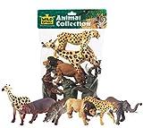 Wild Republic 64003 - Tüte mit Tiersammlung, Afrikanische Tiere, 6Stücke