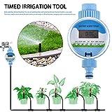 Lucky-all star Gartenbewässerung Timer - Automatisches Bewässerungsgerät mit Uhranzeige, zeitgesteuerter Bewässerungsregler, Bewässerungszeitwerkzeug, für Outdoor-Zimmerpflanzen Baum