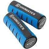 ENERGETICS Hantel Soft mit Handschlaufe Hanteln, Grau/Blau, 2 x 1.5 kg