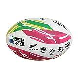 Gilbert Rugby Ball Emblem, Herren, Official RWC 2015, Multi-Colour
