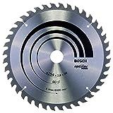 Bosch Zubehör 2608640443 Kreissägeblatt Optiline Wood 254 x 30 x 2,8 mm, 40