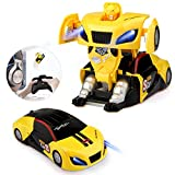 Baztoy Transformers Roboter Ferngesteuertes Auto Spielzeug RC Car Fernbedienung