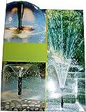 Garten-Teiche Springbrunnen-Set Aufsaetze Fontaenen Set Aufsatz Spring Brunnen Fontänen Aufsatz Pons-Fountain Kid 5112: Farbe: Set2-FH3-5 5114