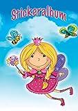 Avery Zweckform 57798 Kinder Sticker Sammelalbum Prinzessin (silikonisiertes blanko Papier) 1 Album