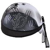 HASAGEI Sports Bandana Kopftuch Hat Herren Damen Stirnbänder Laufen Mütze Fahrrad Helmmütze Piraten Skull Cap (Tiger)