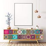 Ambiance Möbelaufkleber, selbstklebend, Fliesenaufkleber, Dekoration für Tische, Schränke, Regale | 40 x 60 cm
