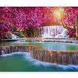 murando - Fototapete 400x280 cm - Vlies Tapete - Moderne Wanddeko - Design Tapete - Wandtapete - Wand Dekoration - Landschaft Wasserfall Natur c-B-0128-a-a