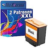 2x FAX-Patrone XXL für Philips Fax I-Jet Memo Fax I-Jet Primo IPF-176 PFA-421