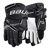 Bauer NSX Handschuhe Senior, Größe:14 Zoll, Farbe:Schwarz