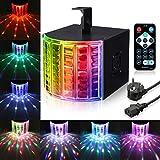 LED PAR Licht SOLMORE 3 Modus LED Stroboskop Licht DMX Controller Lichteffekte Partybeleuchtung Strahler Blitzer Bühnenbeleuchtung mit Fernbedienung für Party Bar Geburtstag