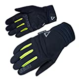 Orina Zeal Handschuhe XL Schwarz/Gelb