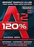 Alcohol 120% Version 12 - Brennen, Kopieren, Sichern - die ultimateive Brennsoftware für Windows 10/8.1/8/7