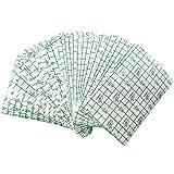 50 Stück 10 cm x 15 cm Fixierpflaster,Transparente Atmungsaktive Hautschutzauflage für Tätowierte Haut,Wasserdicht