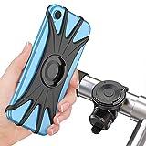 Cocoda Abnehmbare Fahrrad Handyhalterung, 360° Drehbare Magnetische Motorrad Fahrrad Handyhalterung Universal Handyhalter für Alle 4,0'' - 6,5'' Smartphones, Fahrrad Motorrad Zubehör für Sturzschutz
