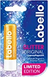 Labello Lippenpflegestift, Original Limitierte Glitzer Edition, 4er Pack (4 x 4,8 g)