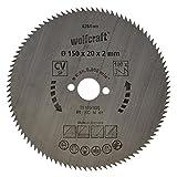 Wolfcraft Kreissäge-Blatt 150  X 20 90 Zähne