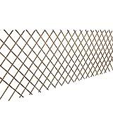 vidaXL 5x Rankgitter Weide Spalier Rankhilfe Gitter Scherenspalier 90 x 180 cm