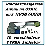 Uzman-Versand Kompatibel Entrindungsgerät Anbau an Stihl 023 MS 210, 230, 250 Schälgerät Rindenschälgerät Entrinder Rindenschäler