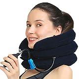 medized aufblasbar Cervical Hals Zugmechanik verbessern Ausrichtung der Wirbelsäule reduzieren Nacken-Halskrause verstellbar