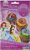 Dekoback Essbare Zucker-Muffinaufleger Disney Princess, 1er Pack (1 x 42 g)