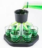 Schnapsquelle mit 6 Gläsern - Trinkspiel