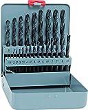 Bohrer / Metallbohrer HSS Sprint KM 25, 25-teilig | hohe Elastizität und Zähigkeit, schnell durch Spezialanschliff, zum Bearbeiten von legiertem und unlegiertem Stahl | Ø 1 – 13 mm, je 0,5 mm stg.