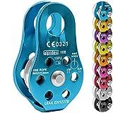 Umlenkrolle Seilrolle Fix Pulley Elektra von Alpidex , Farbe:blau